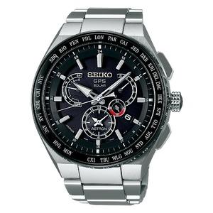 Seiko Astron Radio Wave Control Solar Titanium Men's Watch SBXB123