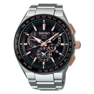 Seiko Astron Radio Wave Control Solar Titanium Men's Watch SBXB125