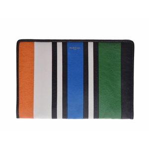 Used Balenciaga Bazaar Clutch Bag Vintage Leather Multi Color Shop Card ◇