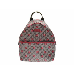 Used Gucci Gg Supreme Backpack Children's Lady Beetle System New ◇