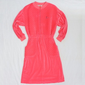 Christian Dior Women's Casual,Party Pink A-line Dress Salopette All in One