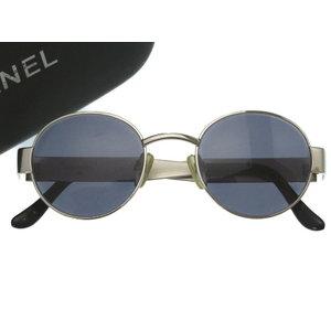 Beauty Item Chanel Sunglasses Silver Metal Eyewear 0339 Unisex