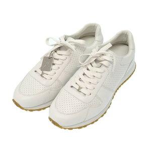 Unused Louis Vuitton × Supreme Runaway 7 White Leather 2017 Aw Sneaker 1 A3 Epo Shoes Men's Lv 0079