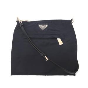 Unused Prada Nylon Shoulder Bag Navy Mens Blue 0251
