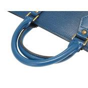 896405542957 Miu Louis Vuitton Sack Triangle M52095 Epi Blue Handbag Bag Lv 0107