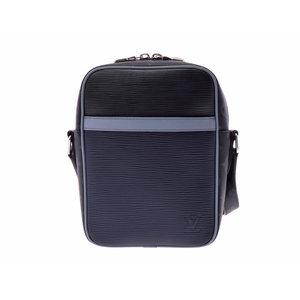 Used Louis Vuitton Epi X Eclipse Danube Pm Navy System / Blue Gray Series M53421 Shoulder Bag Men's Women's ◇
