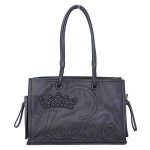 Loewe Loewe Shopper Tote Bag Black 323 93 006
