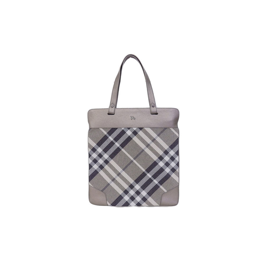 Burberry Tote Bag Gray