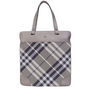 Burberry Tote Bag Gray