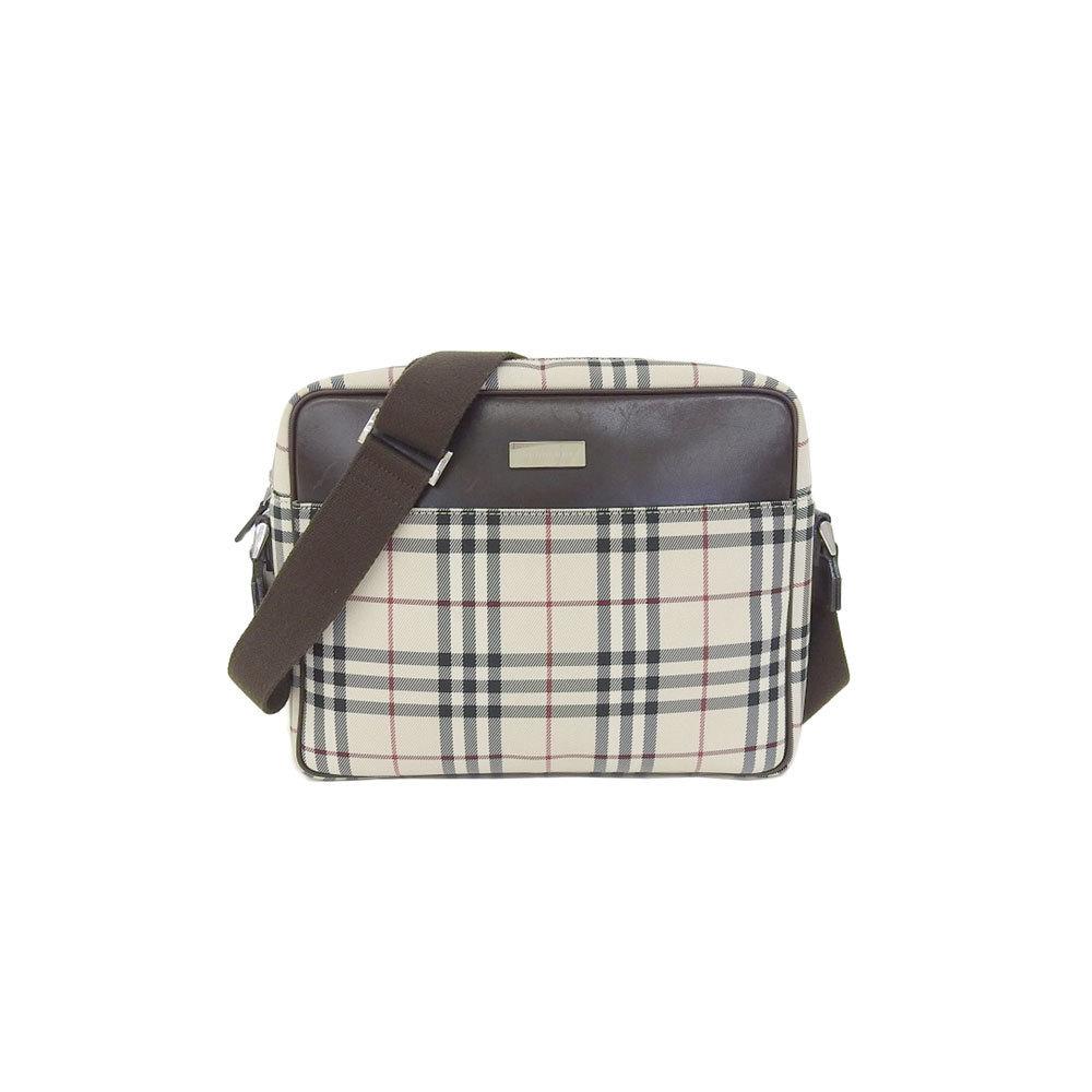 Burberry Shoulder Bag Beige,Dark Brown