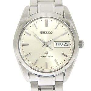 Seiko Grand Seiko Gs Mens Quartz Wrist Watch 9f83-0ah0 Sbgt 035