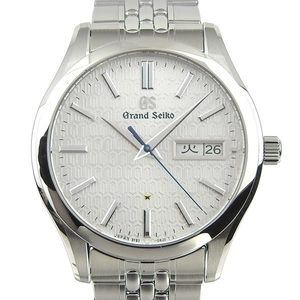 Seiko Seiko Grand Mens Quartz Watch Silver Dial 9f83-0am0 Wrist