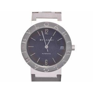 中古 ブルガリ ブルガリブルガリ BB33SS SS 黒文字盤 自動巻 メンズ レディース 腕時計 BVLGARI◇