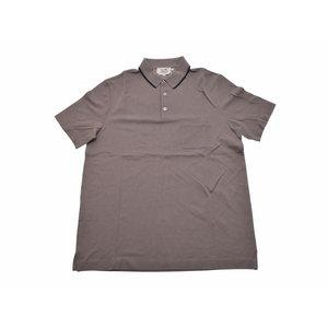 エルメス(Hermes) 新品 エルメス メンズ ポロシャツ コットン100% グレー系 サイズXL HERMES◇