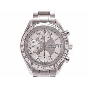 中古 オメガ スピードマスター デイト3513.30 SS 白文字盤 自動巻 腕時計 ギャラ メンズ OMEGA◇