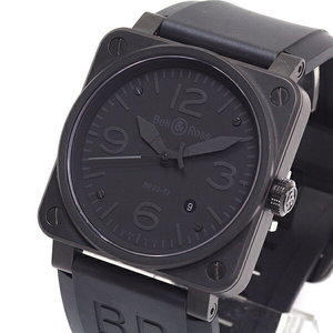 [Bell & Ross] Bell Ross Men's Watch Phantom 500 Limited Edition Br 03 - 92 S All Black