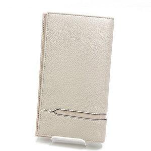Bvlgari Bulgari Octo Two Fold Wallet 37162 Beige Unused Item