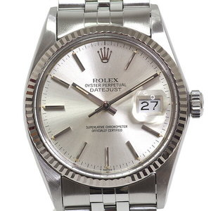 [Rolex] Rolex Men's Watch Datejust 16014 85 Series (1984 Made) Antique Oh Silver Dial Face Board