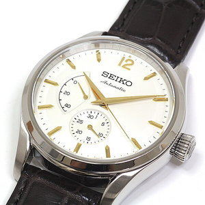 Seiko Men's Watch Prezage 60th Anniversary Limited Edition Sarw 027 Off White Dial Similar As New