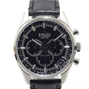 [Zenith] Zenith Mens Watch El Primero Classic 36000 Vph 03.2080.400 / 2 Black (Black) Dial Unused Item