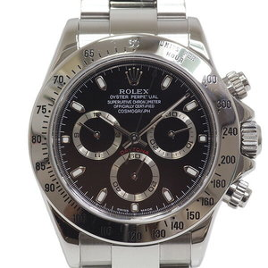 [Rolex] Rolex Men's Wrist Watch Cosmograph Daytona 116520 F Number 2004 Made Black Dial Board Oh Already