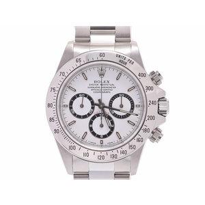 中古 ロレックス デイトナ16520 U番 SS 白文字盤 自動巻 腕時計 メンズ ROLEX◇