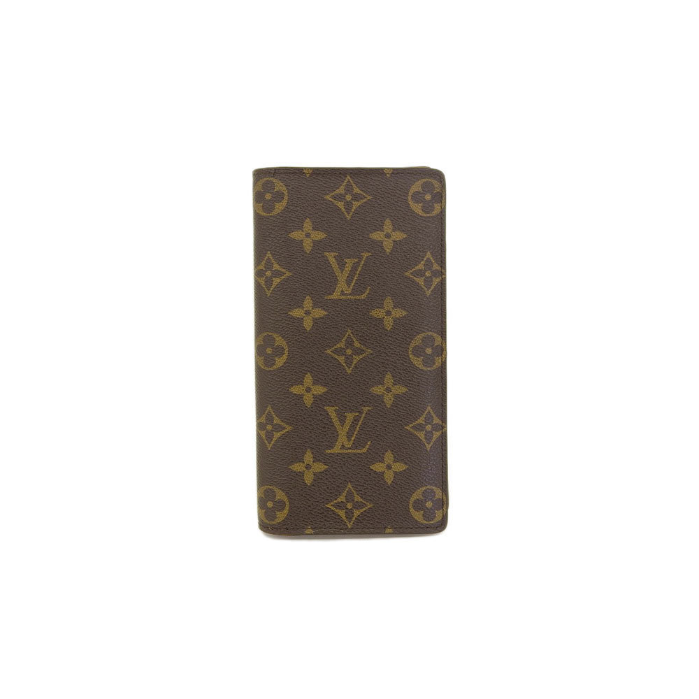 d6b80d429a3 Genuine Louis Vuitton Monogram Porto Foyu Blozer Fold Wallet M66540 ...