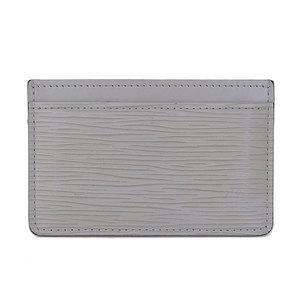 Genuine Louis Vuitton Epi Card Case Gray