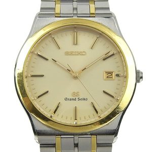 Genuine Seiko Grand Men's Quartz Wrist Watch 8n65-9000