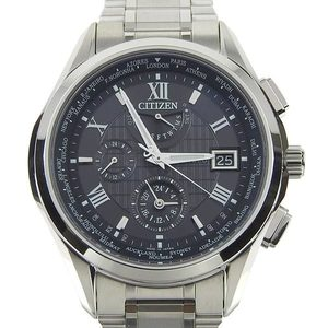 Genuine Citizen Eco Drive Exceed Men's Solar Radio Wrist Watch At9110-58e / H820-t023916