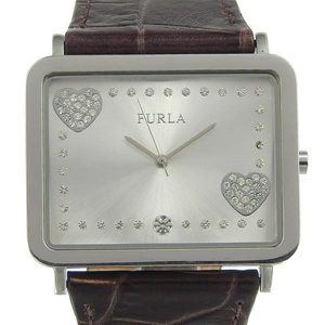 Genuine Furla Ladies Quartz Watch Silver Dial