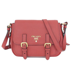 17dc5013bdca28 ... best authentic prada leather shoulder bag red gold hardware bc96e 97835