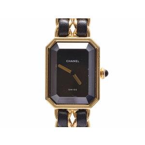 Second-hand Chanel Premier Gp Leather M Size Quartz Lady Watch ◇