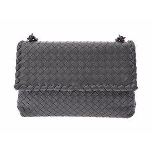 Used Bottega Veneta Olympia Bag Lambskin Gray Intorechat Current Item Unused  Ladies ◇ 963366c05789a