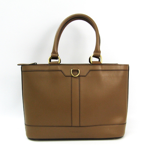 Burberry Women's Leather Tote Bag Brown
