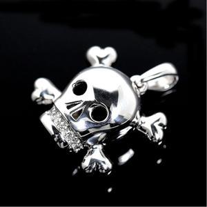 Christian Dior Fiancée de Vampire K18WG Diamond Charm Pendant Top Jewelry Finished