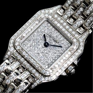 Cartier Pantail SM Quartz WG Solid Diamond Ladies Watch