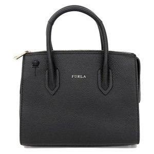 Furla FURLA tag attaching 2018 spring and summer item PIN 2 way shoulder handbag black BMN 1 OAS O 60