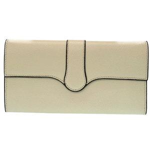 Vallexra Leather Purse Off White 0042 Valextra