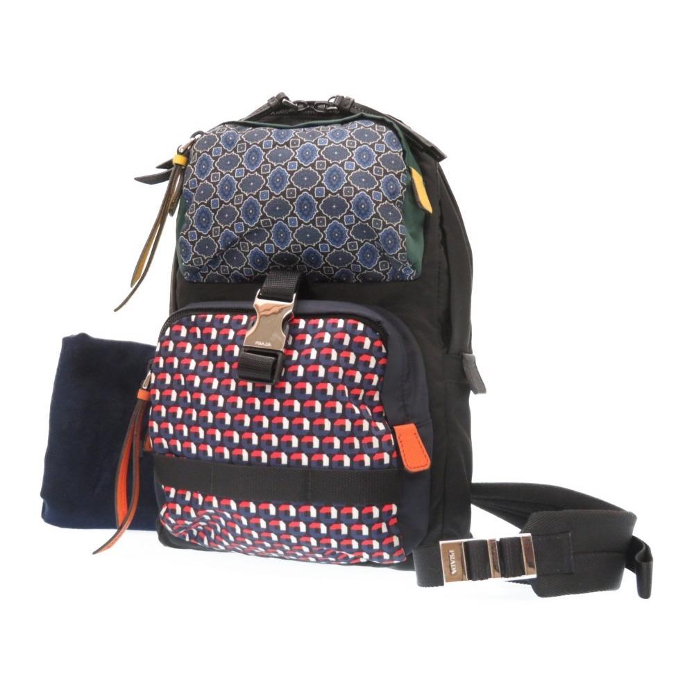 Prada Men s Nylon Shoulder Bag Black 1853e2f7453ad
