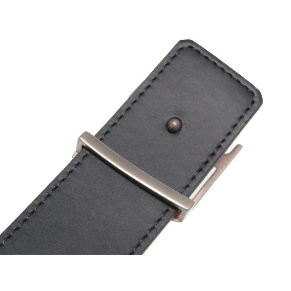 338092c8beec Louis Vuitton Reversible Leather Belt Red   Navy Men s Size 95 N1013 ...