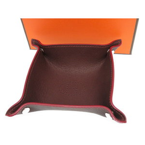 Hermes Vido Pot Tray Brown as new 0272 HERMES