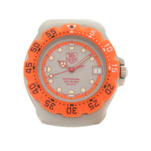 TAG Heuer Four Mirror 1 Quartz Wrist Watch Orange 0024 HEUER