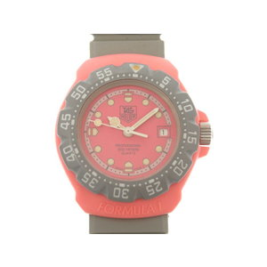 TAG Heuer Formula 1 Quartz Watch 360.508 Rubber Belt Pink 0063 HEUER Women's