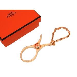 Unused Hermes Fillow Glove Holder All Rose (Pink Gold) Bag Charm Key 0074 HERMES