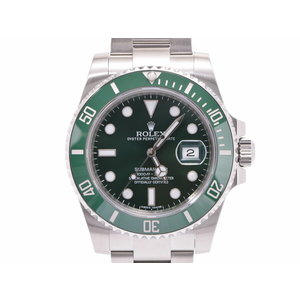 Rolex Submariner Green Dial Bezel Sub 116610LV Random Number Men's SS Automatic Watch A Rank 美 品 ROLEX Galler Used Ginza