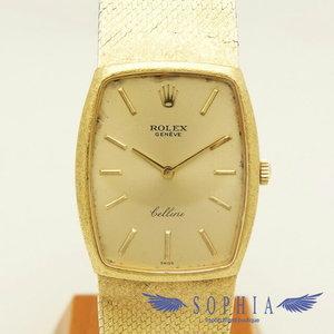 Rolex Cherini K18 square watch manual winding