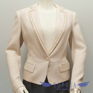 Salvatore Ferragamo Ferragamo Tweed Jacket Pink Size 40