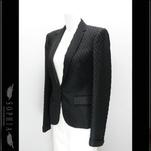 Alexander · McQueen Ladies Tailored Jacket Black Size 40