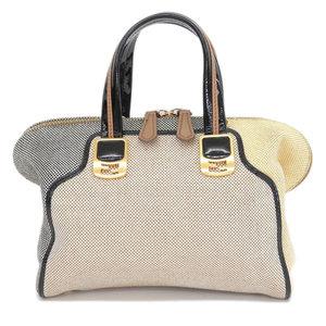 Genuine FENDI Fendi chameleon 2WAY bag hand shoulder multicolor 8BL 117 leather